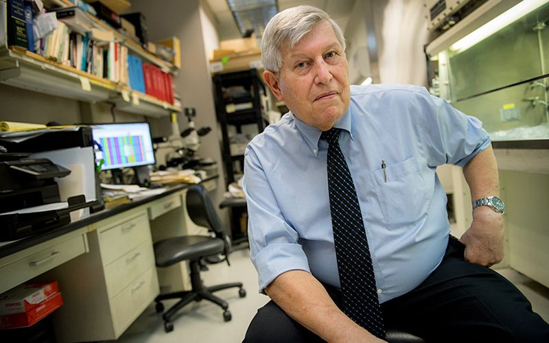 Dr. Donald Krogstad, professor of tropical medicine at Tulane University School of Public Health and Tropical Medicine.
