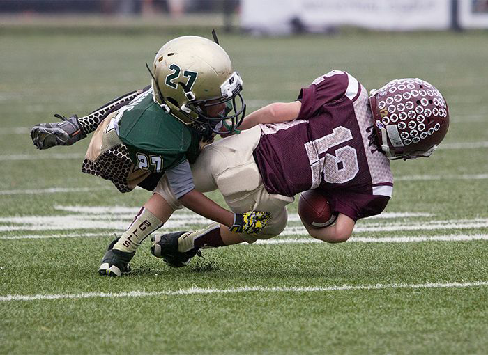 Youth Football Linked to Earlier Brain Problems ...