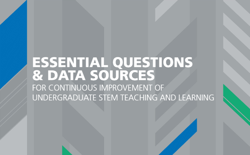AAU Releases Report on Essential Questions and Data Sources on Undergraduate STEM Education