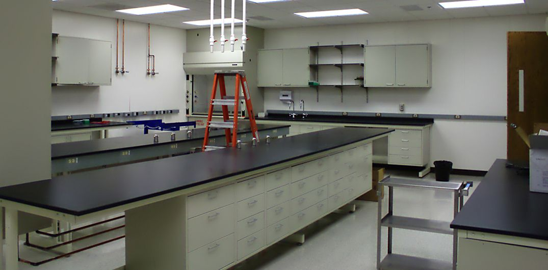 Image: Empty Lab